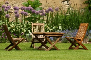 How to steam clean garden benches and wood furniture with steam cleaner