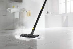 clean your home tile floor and grout